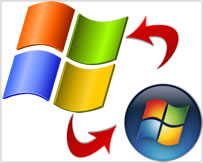 downgrade upgrade Windows vista windows xp windows 7